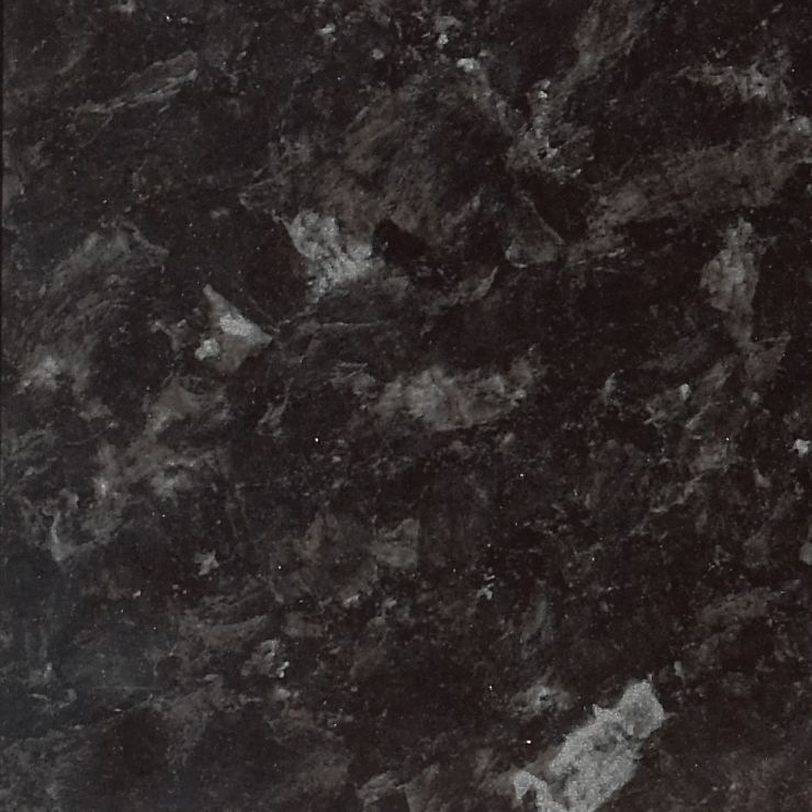 Gloss worktop granite Ebony