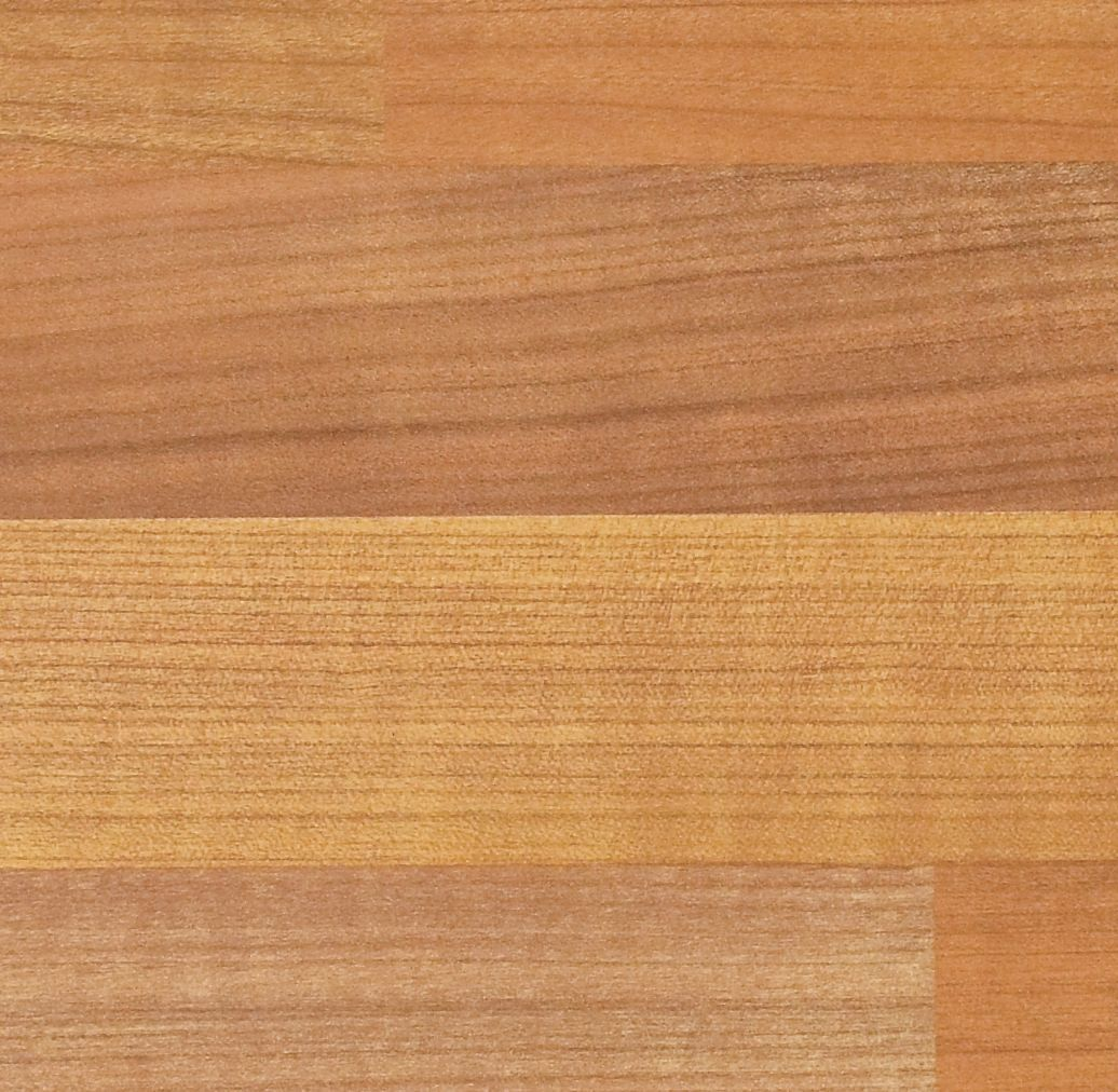 Premium Kitchens Cherry Wood Effect Butcher's Block Worktop Edging Strip (l)3000mm