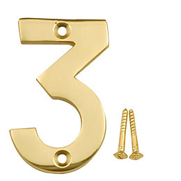 Brass House Number 3