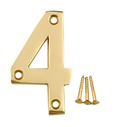 Brass House Number 4