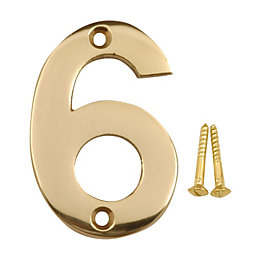 Brass House Number 6