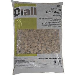 Diall 20 mm Limestone