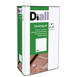 Diall Clear Decking Oil 2.5L