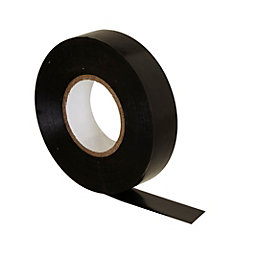 B&Q Black Insulation Tape (L)33M (W)19mm