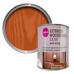 Colours Antique Pine Satin Woodstain 0.75L