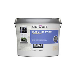Colours Sand Matt Masonry Paint 5L