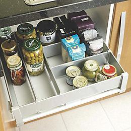 IT Kitchens Metallic Effect Storage System