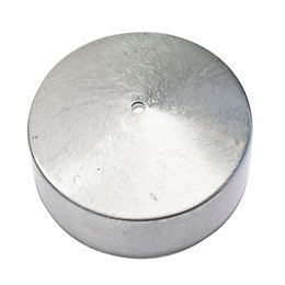 B&Q 1-Way Stainless Steel Effect Ceiling Pull Switch