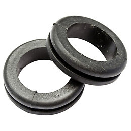 B&Q Cable Grommet, Pack of 10