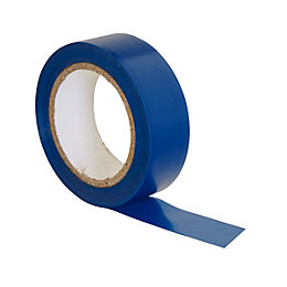 B&Q Blue Insulating Tape (L)10m