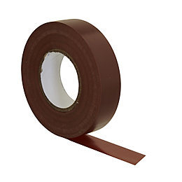 B&Q Brown Insulating Tape (L)33m