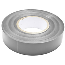 B&Q Grey Insulating Tape (L)33m