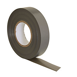 B&Q Grey Insulation Tape (L)33M (W)19mm