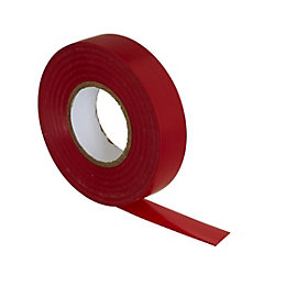 B&Q Red Insulating Tape (L)33m