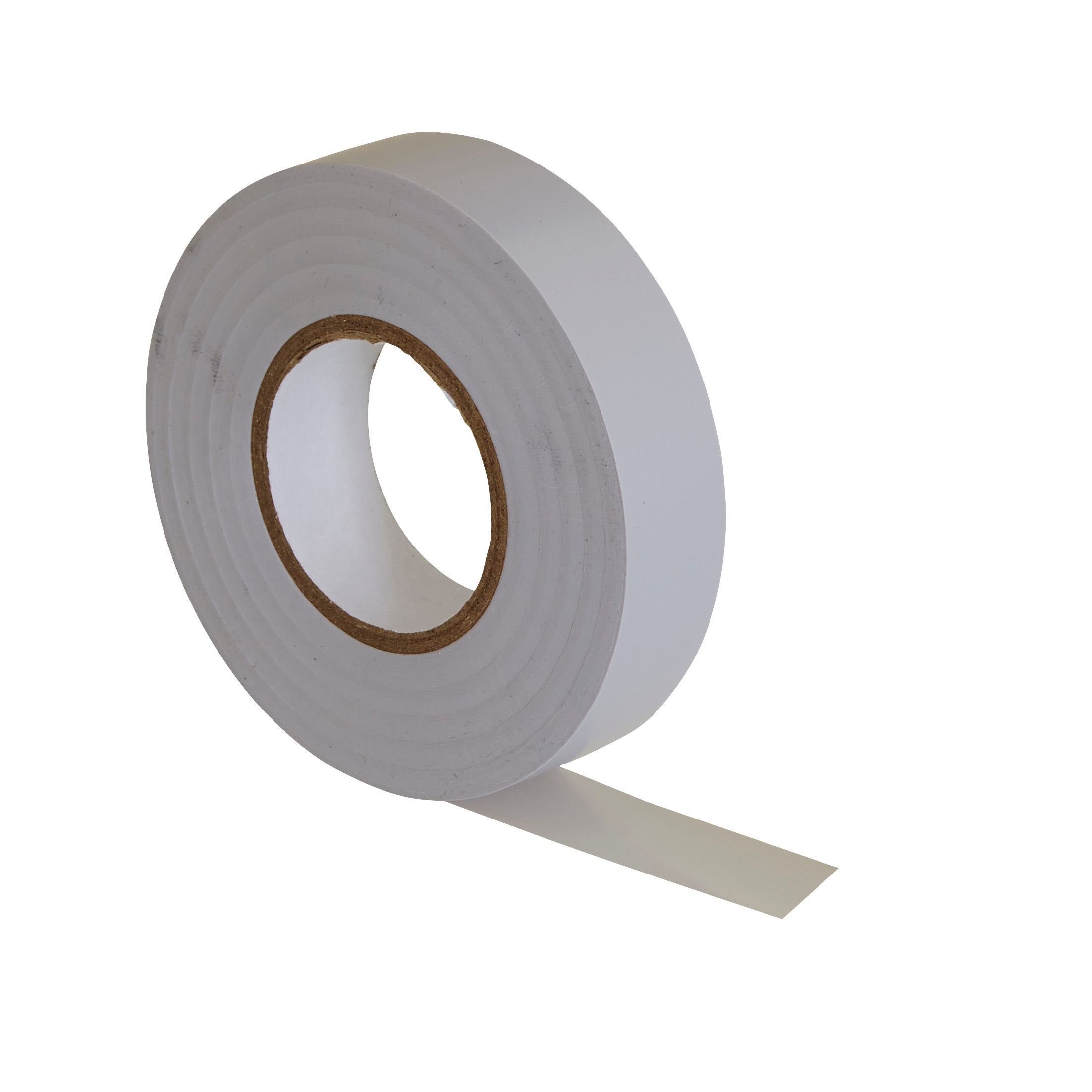 b q white insulation tape l 33m w 19mm departments. Black Bedroom Furniture Sets. Home Design Ideas