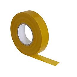 B&Q Yellow Insulating Tape (L)33m