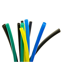 B&Q Heat Shrink Cable Sleeve Assorted (L)150mm, Pack