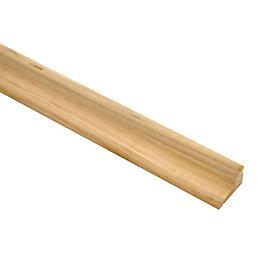 Softwood Rain Deflector (L)840mm (W)30mm