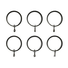 Colours Brass Effect Metal Curtain Ring (Dia)28mm, Pack