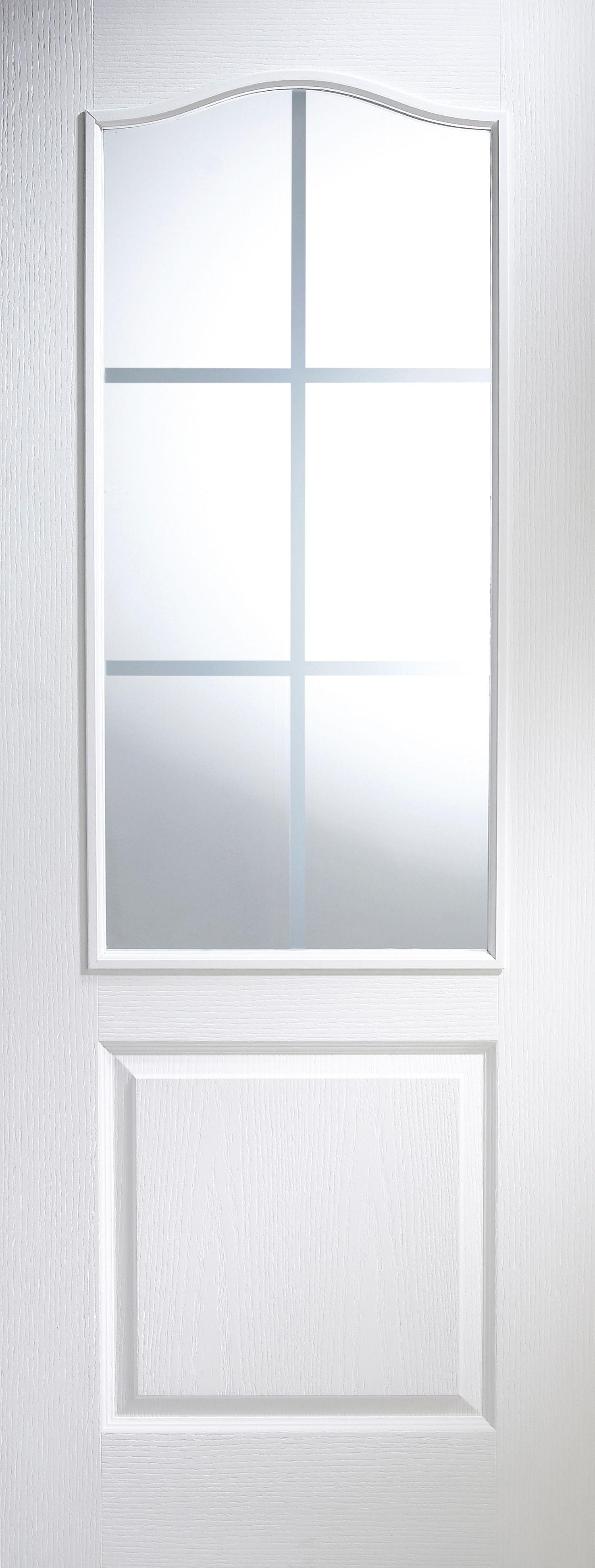 2 panel arched pre painted white woodgrain glazed internal. Black Bedroom Furniture Sets. Home Design Ideas