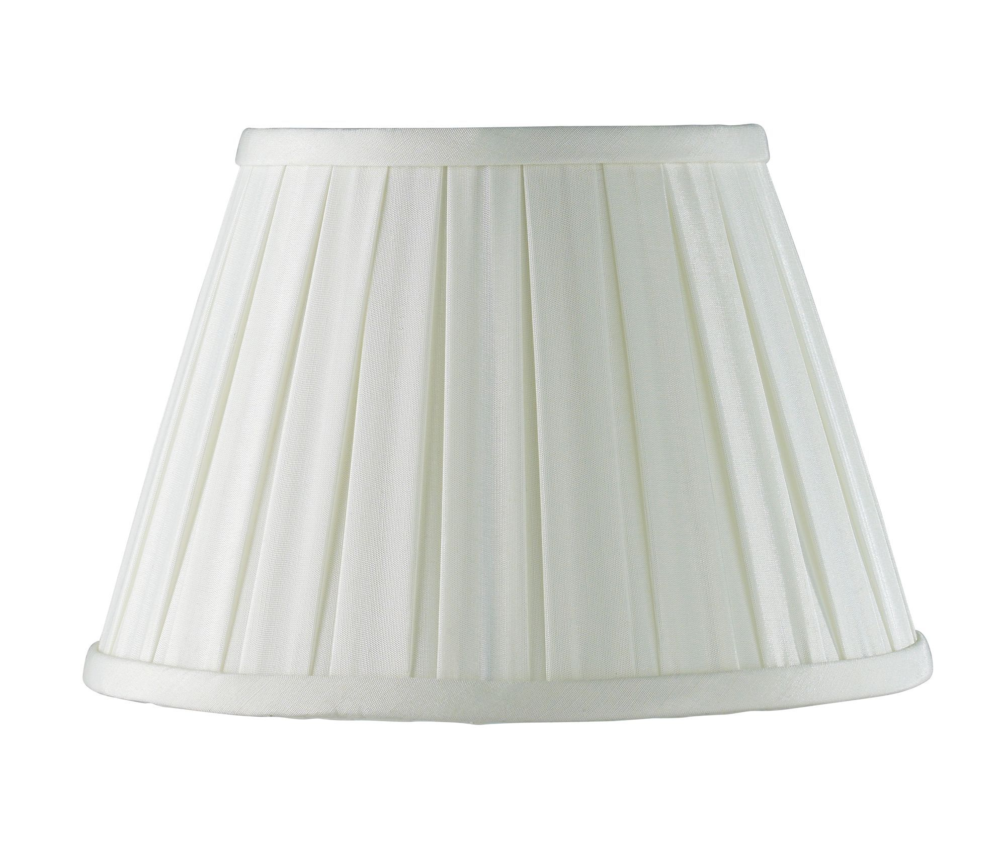 Colours Cream Pleated Light Shade (d)250mm