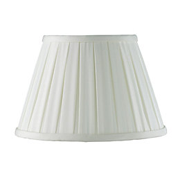 Colours Cream Pleated Light Shade (D)25cm