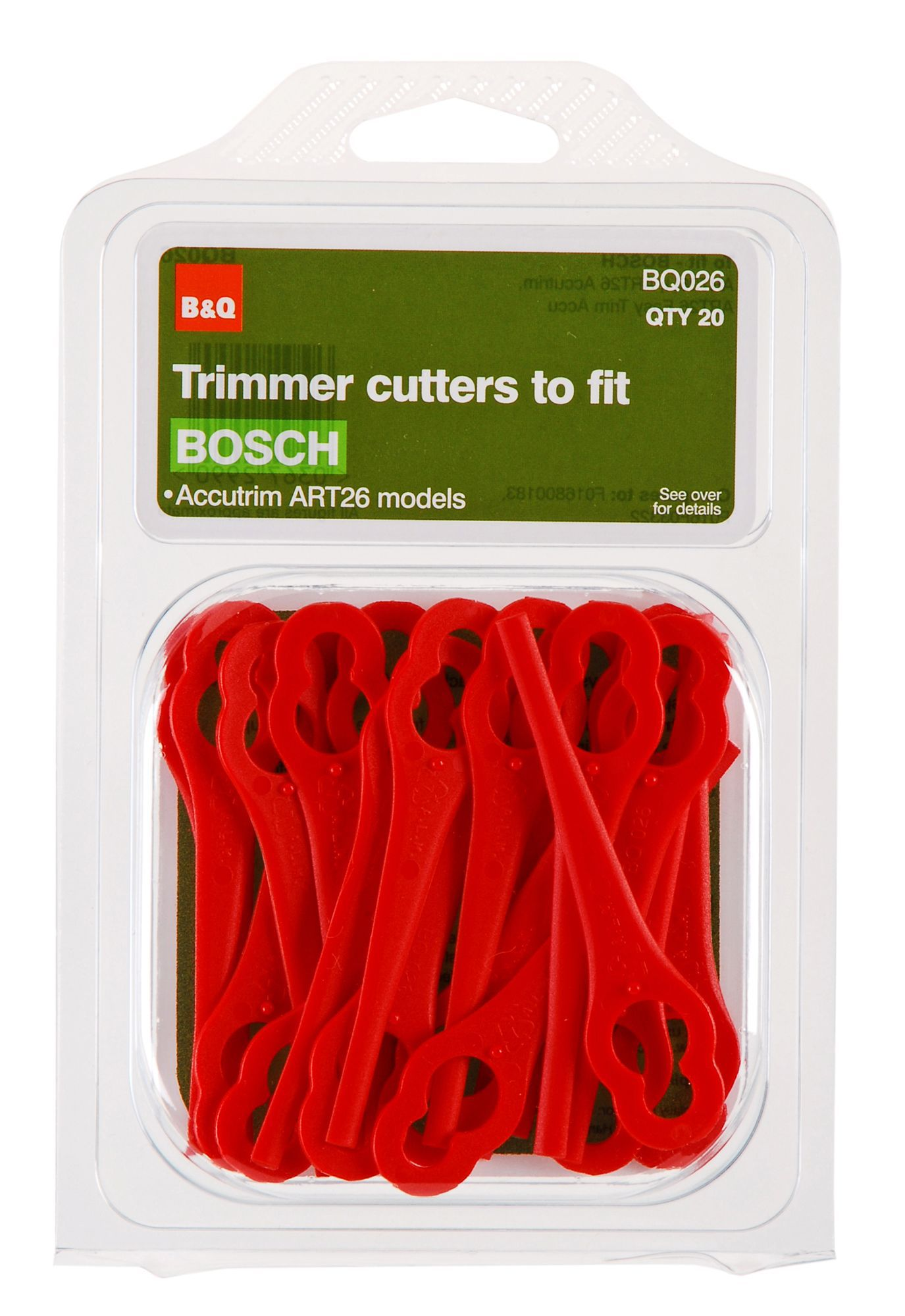 B&q Trimmer Cutters Replacement Plastic Blades