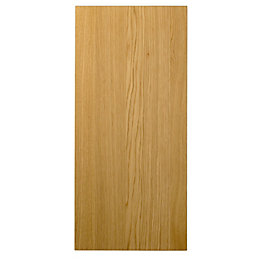 Cooke & Lewis Solid Oak Classic Wall Panel