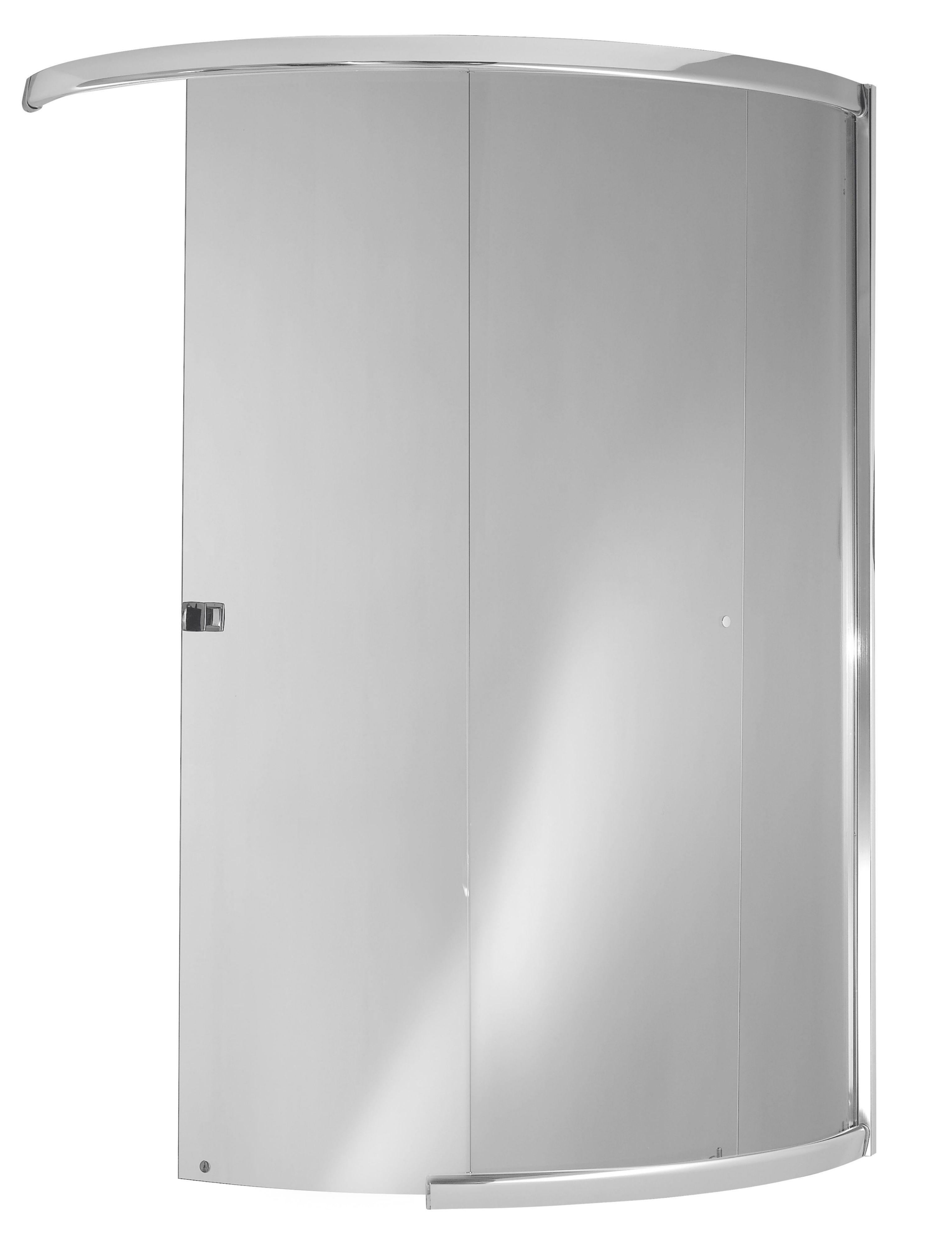 Curved Shower Screen Perfect Veebath Essentials Bath D