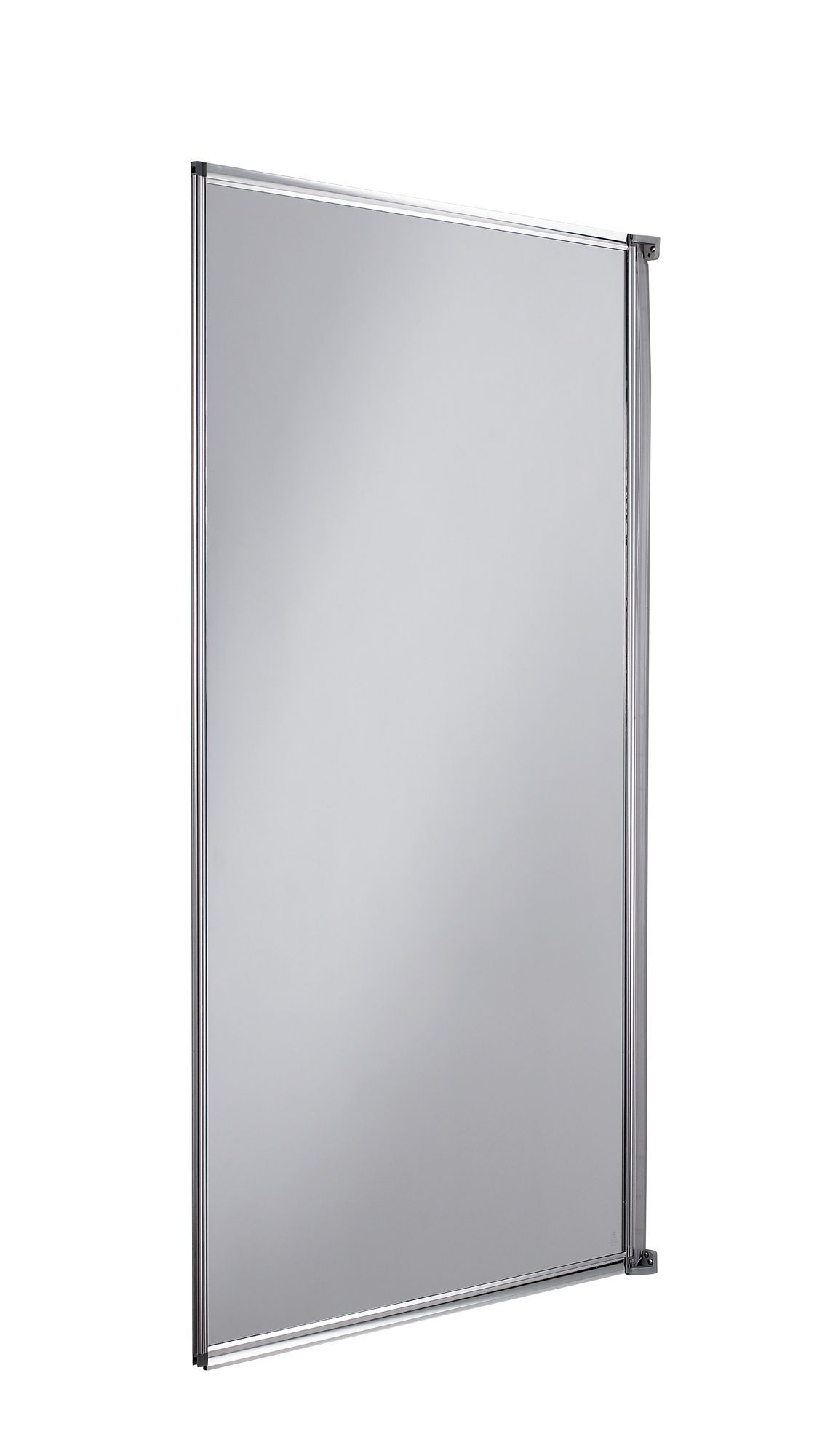 Cooke and lewis bathroom mirrors - Cooke Lewis Straight Single Panel Fully Framed Bath Screen W 750mm Departments Diy At B Q