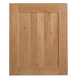 Cooke & Lewis Chesterton Solid Oak Tall Single