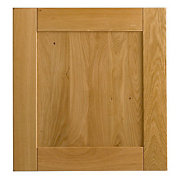 Cooke & Lewis Solid Oak Tall Oven Housing