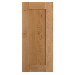 Cooke & Lewis Chesterton Solid Oak Tall Standard
