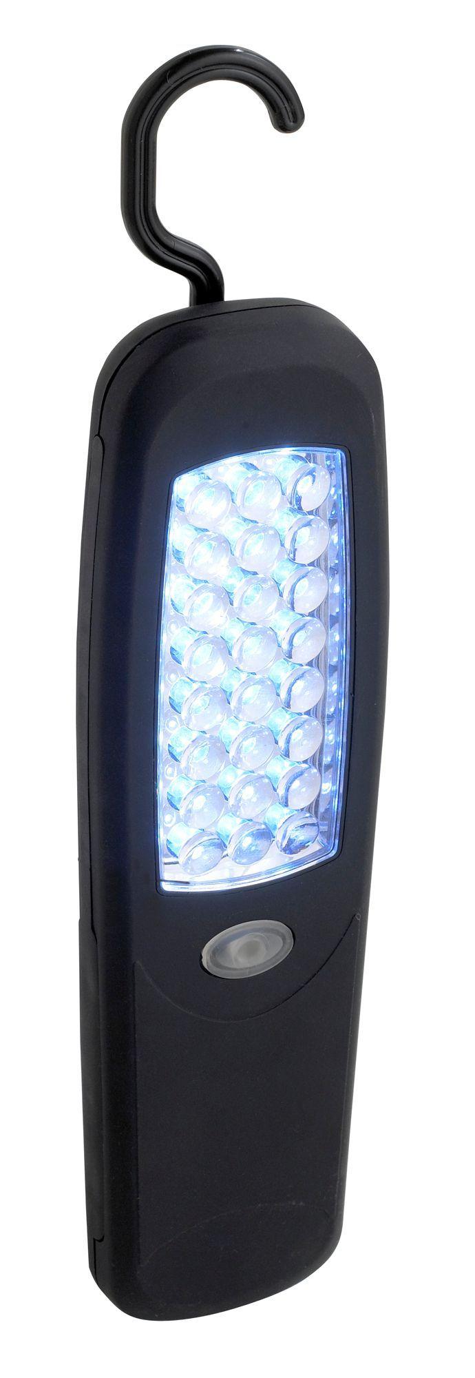 B&Q 72lm Plastic LED Black Inspection Light