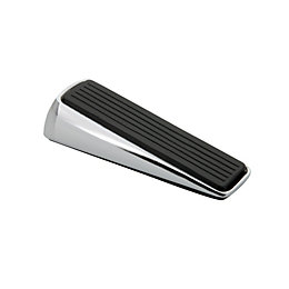 B&Q Rubber & Zinc Door Wedge