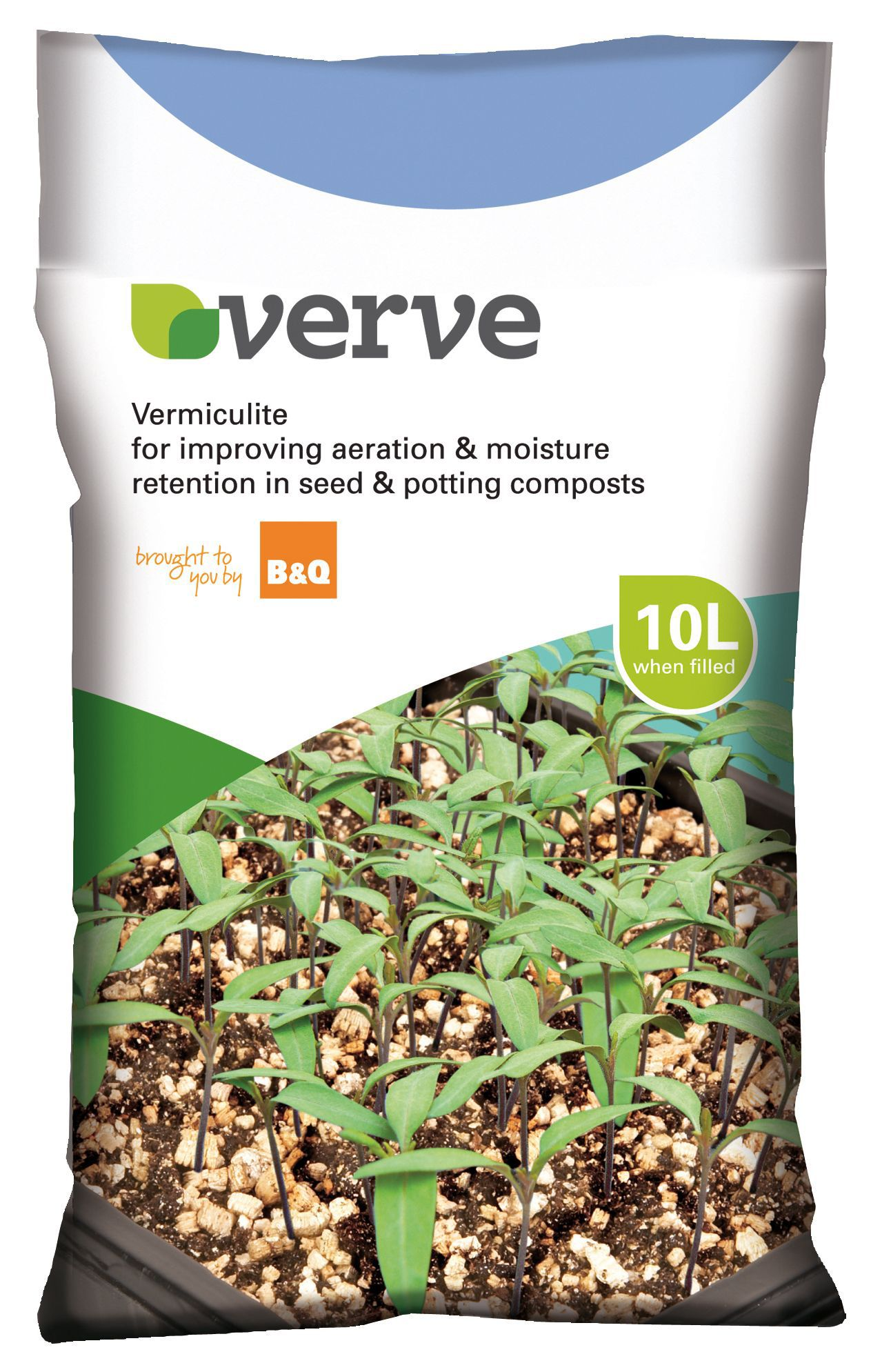 verve vermiculite 10l departments diy at b q. Black Bedroom Furniture Sets. Home Design Ideas