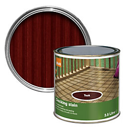 Colours Teak Matt Decking Stain 2.5L