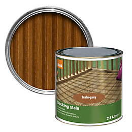 Colours Mahogany Matt Decking Stain 2.5L