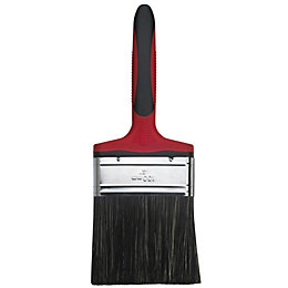 Diall Straight Cut Flat Masonry Brush (W)4""