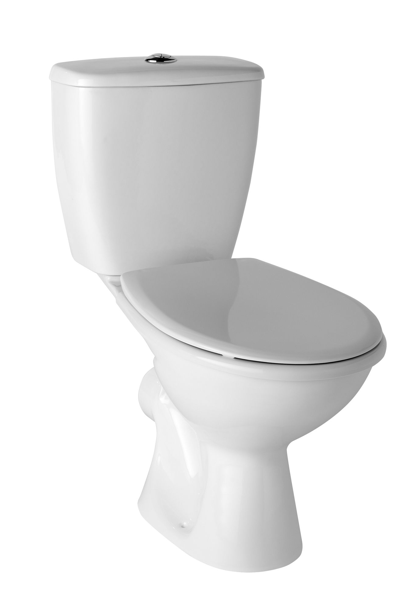 Plumbsure Newbury Close Coupled Toilet With Standard Close