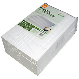 B&Q Insulation Board, (L)610mm (W)402mm (T) 60mm, Pack