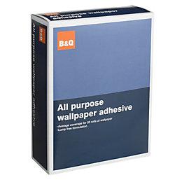 B&Q All Purpose Wallpaper Adhesive
