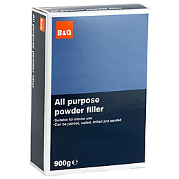 B&Q All Purpose Powder Filler 900G
