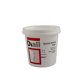 B&Q Quick Drying Filler 500G