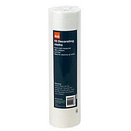 B&Q Decorating Cloth, Pack of 55