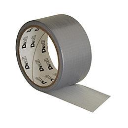 B&Q Silver Gaffer Tape (L)10M (W)50mm