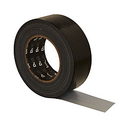 B&Q Black Gaffer Tape (L)50M (W)50mm