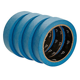 B&Q Professional Blue Masking Tape (L)25M (W)25mm, Pack