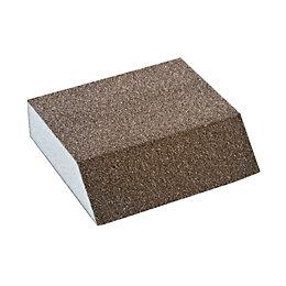 Diall 100/60 Fine/Medium Angled Sanding Sponge