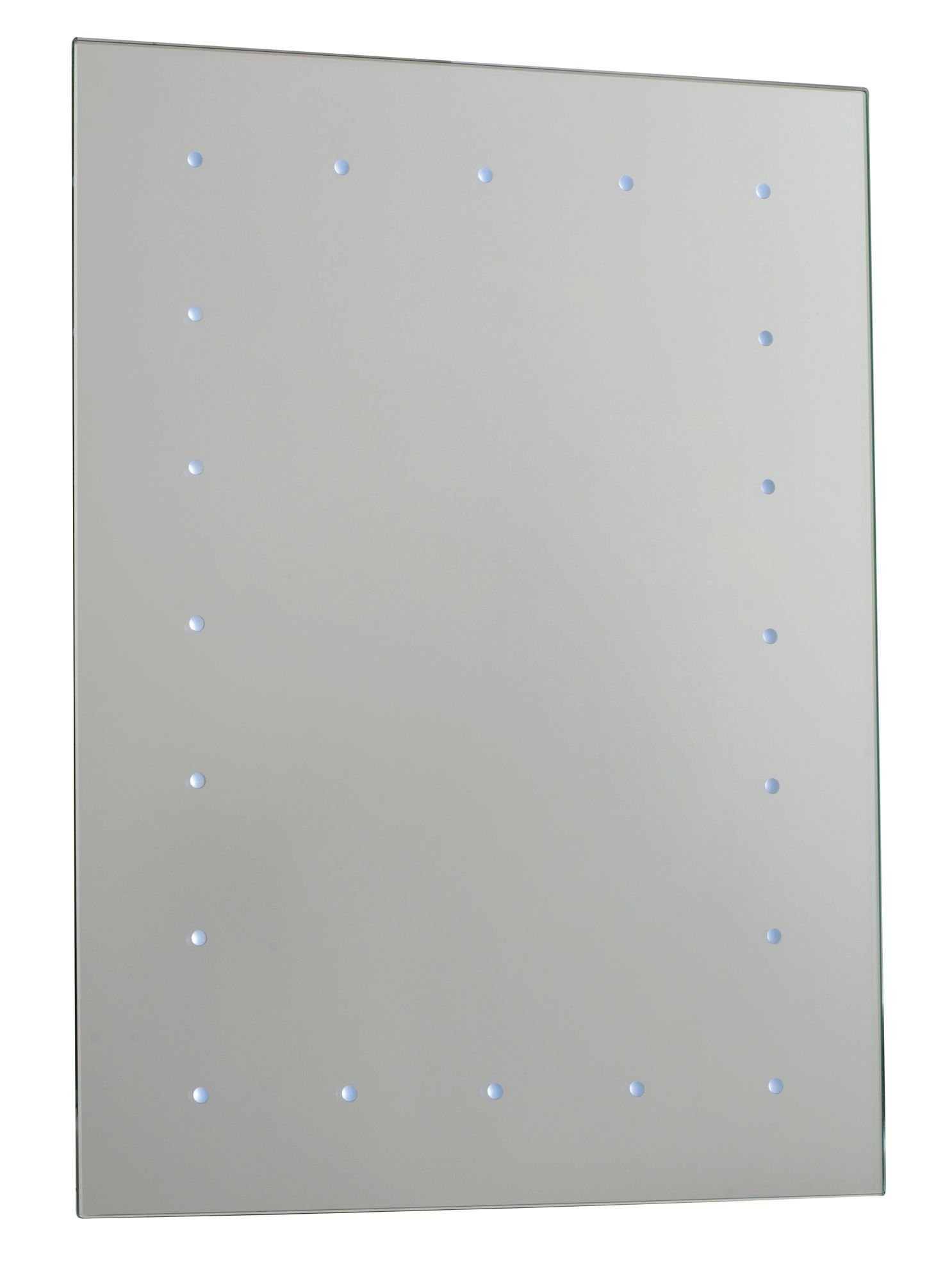 Cooke and lewis bathroom mirrors - Cooke Lewis Illumini Illuminated Rectangular Mirror W 450mm H 600mm Departments Diy At B Q